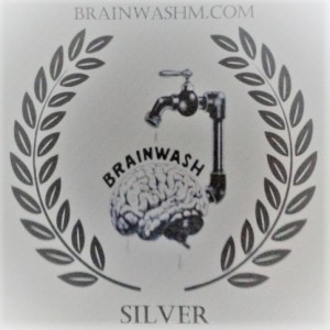 The Brainwash Silver logo