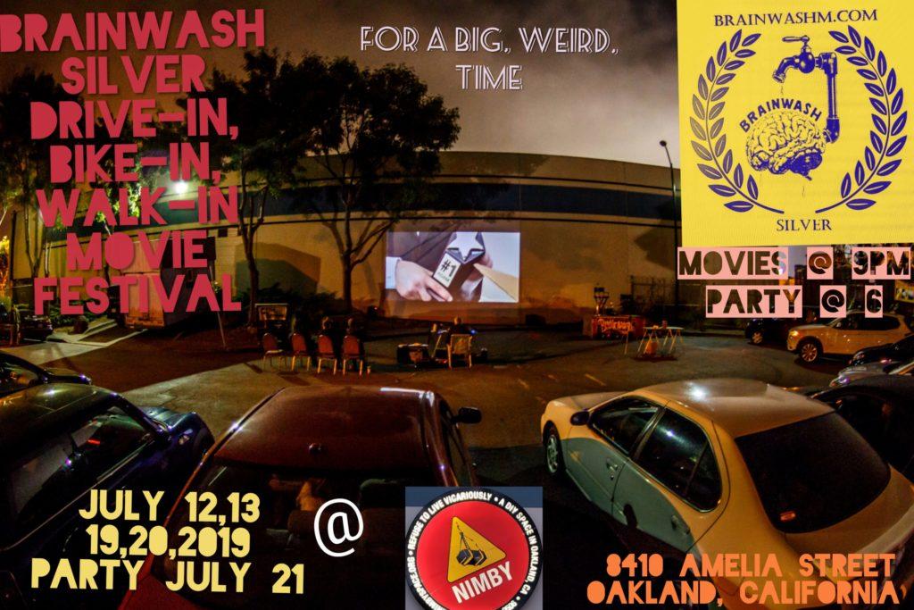 Brainwash Movie Festival Drive In Bike In Walk In Film Festival In